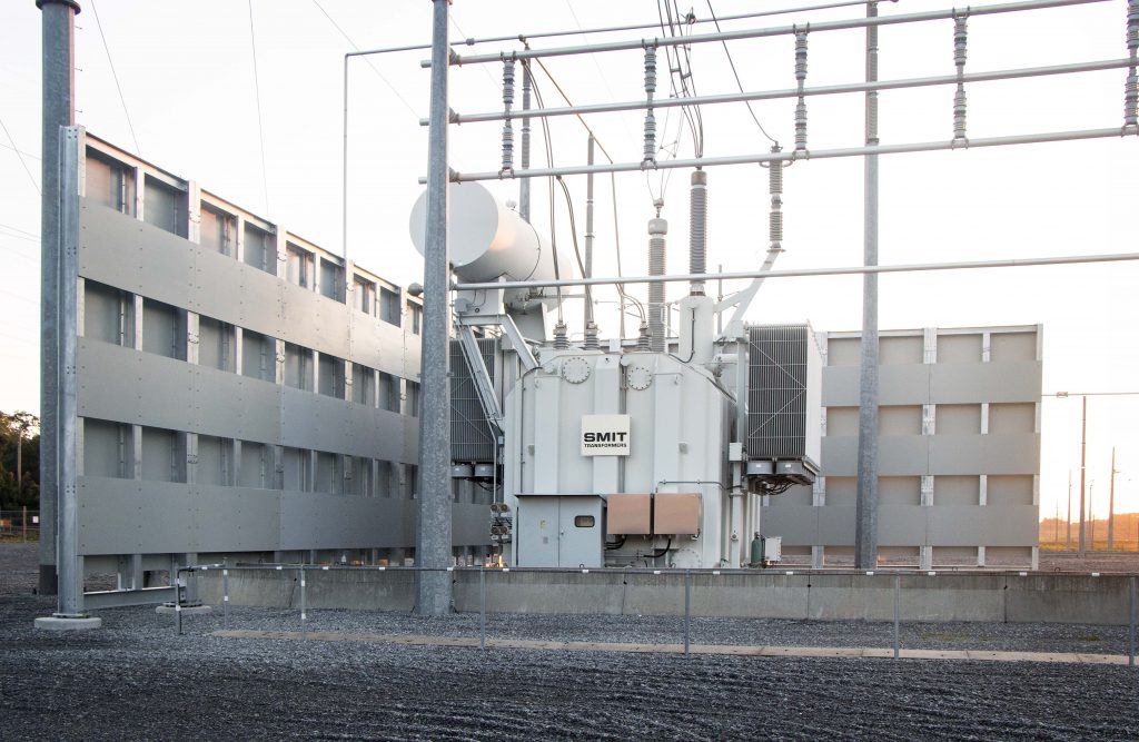 SMIT substation and equipment