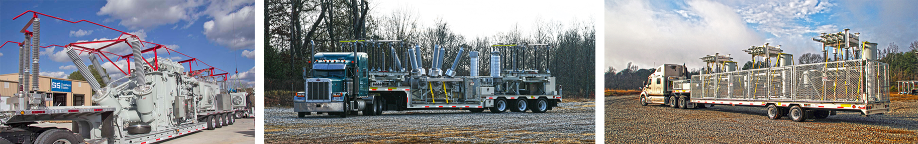 Examples of mobile substations