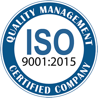 Quality Management Certified Company ISO 9001:2015